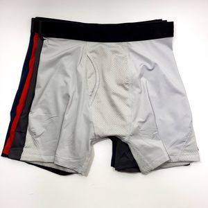 4 Pairs of Boys All In Motion Boxer Briefs